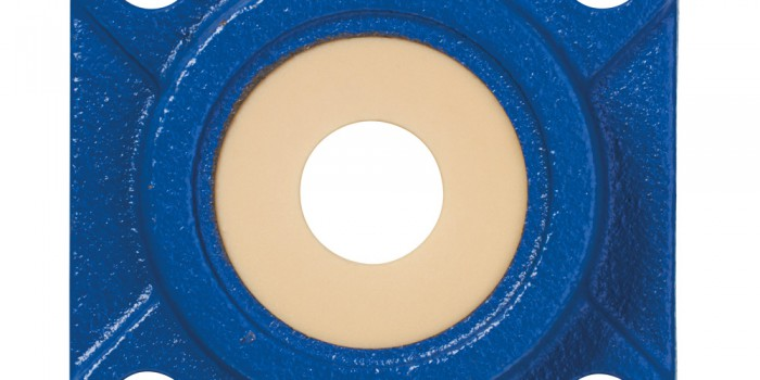 Detectable spherical bearings for sensitive applications