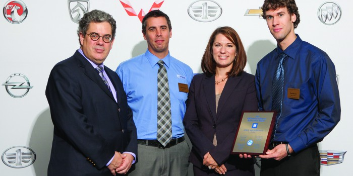 SPIROL Receives 2014 General Motors Supplier Quality Excellence Award