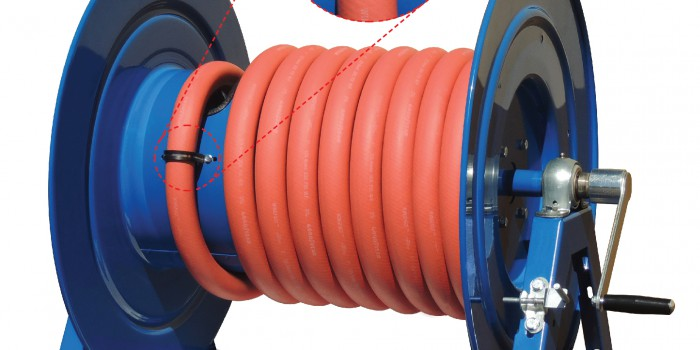 Coxreels® is pleased to introduce the hose strain relief kit for hose reels!