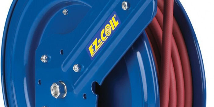 Coxreels EZ-Coil® Slows Retraction Speeds Up To 80%!