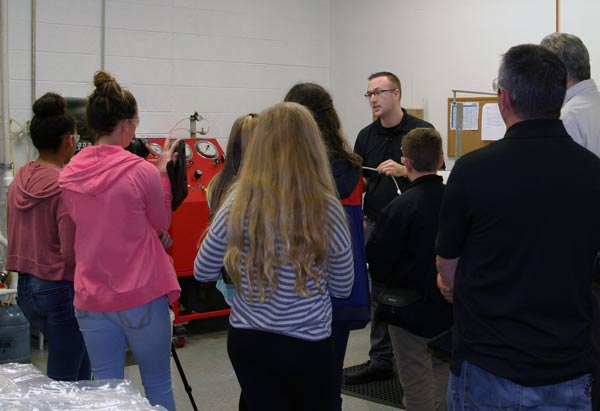 NewAge® Industries Hosts Local Students Learning About Manufacturing Careers